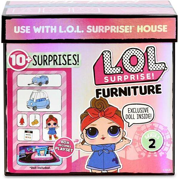 LOL Suprise Furniture S2 Road Trip játékszett