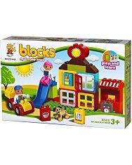 Luna Blocks: Farm építőjáték - 38 darabos - 1. Kép