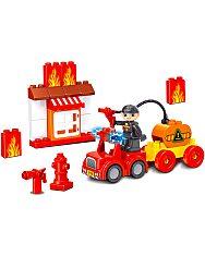 Luna Blocks: Tűzoltó építőjáték - 30 darabos - 2. Kép