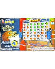 Luna: Kosárlabda vs futball amőba útijáték - 1. Kép