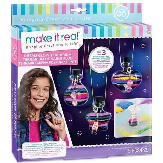 Make It Real: Álomfény üvegcse - medálkészítő szett - 1. Kép