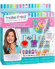 Make It Real: Csillogó körmök - szépség szett - 1. Kép