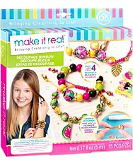 Make It Real: Decoupage gyöngyök - ékszerkészítő szett - 1. Kép