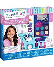 Make It Real: Lányok a világ körül - sminkkészlet - 1. Kép