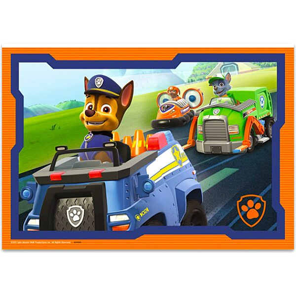 Mancs őrjárat: Bevetésen 2x12 darabos puzzle - 3. Kép