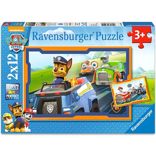 Mancs őrjárat: Bevetésen 2x12 darabos puzzle - 1. Kép