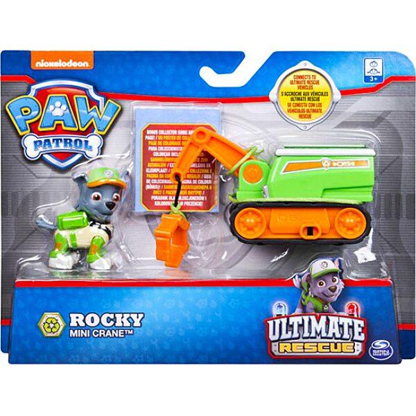 Mancs őrjárat: Észvesztő mentés - Rocky mini daruja - 1. Kép