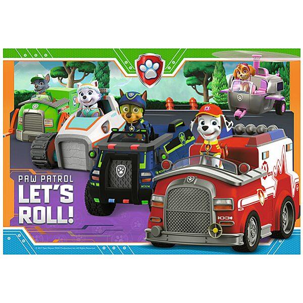 Mancs őrjárat: Kutyusok és járgányaik - 35 darabos puzzle - 2. Kép