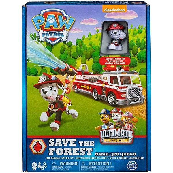 Mancs őrjárat: Mentsük meg az erdőt társasjáték - 1. Kép
