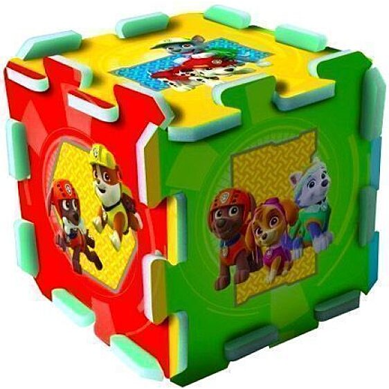 Mancs őrjárat szivacs puzzle - világoskék - 2. Kép