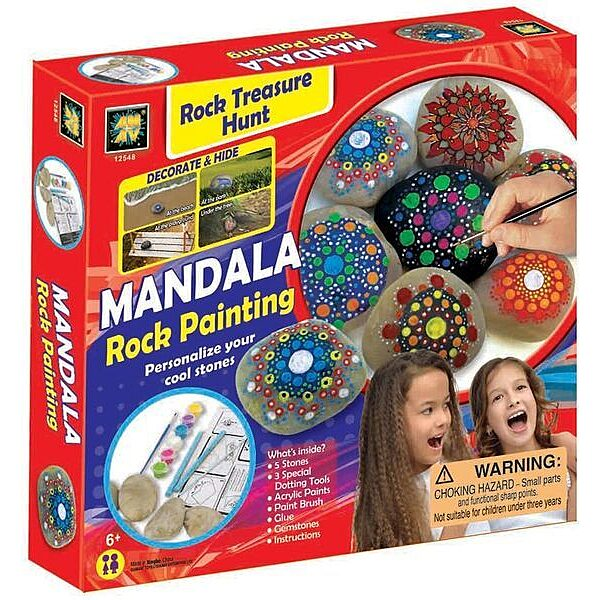 Mandala kavicsfestő készlet - 1. Kép