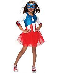 Marvel: Amerika Kapitány leány jelmez - L méret - 1. Kép
