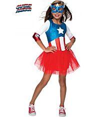 Marvel: Amerika Kapitány leány jelmez - M méret - 1. Kép