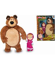 Mása és a medve: Plüss maci és Mása egy csomagban - 2. Kép