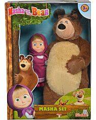 Mása és a medve: Plüss maci és Mása egy csomagban - 1. Kép