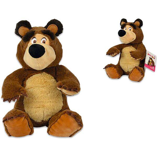 Masha és a Medve: plüss mackó - 20 cm - 1. Kép