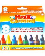 MaxxCreation: 8 darabos szuper tömzsi zsírkréta - 4. Kép