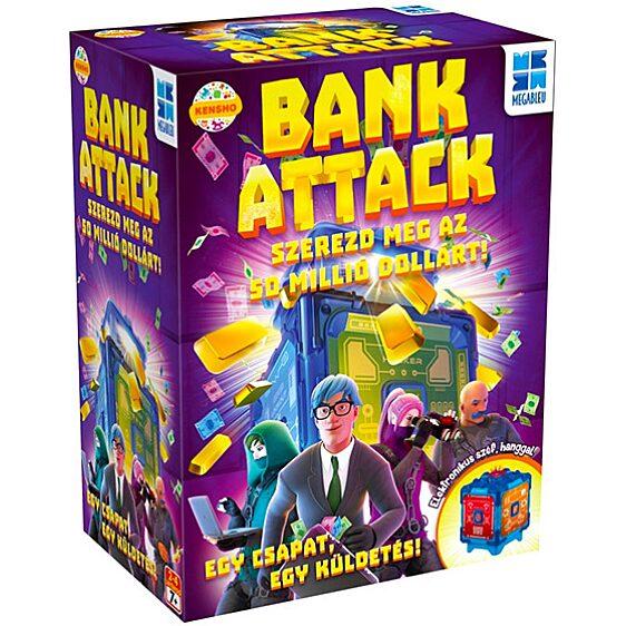 Megableu: Bank Attack társasjáték - 1. Kép