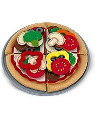 Melissa and Doug: Sütés-főzés 40 darabos pizza szett - 2. Kép