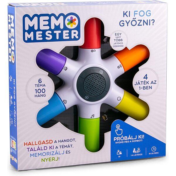 Memo mester társasjáték - 4. Kép
