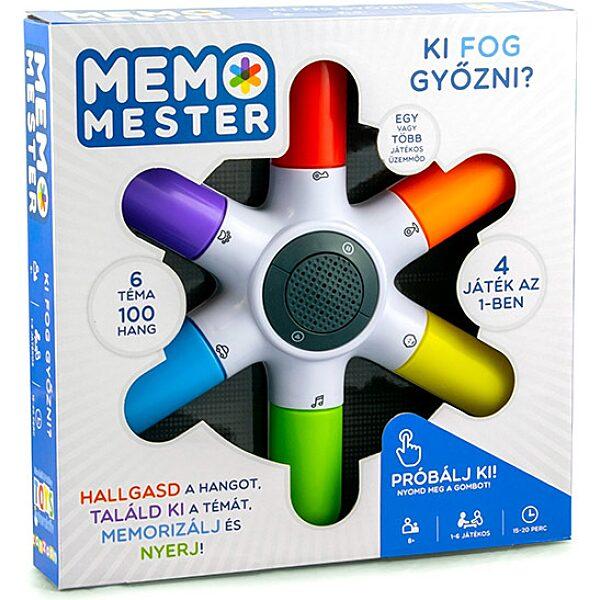 Memo mester társasjáték - 1. Kép