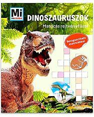 Mi Micsoda: Dinoszauruszok matricás rejtvényfüzet - 1. Kép