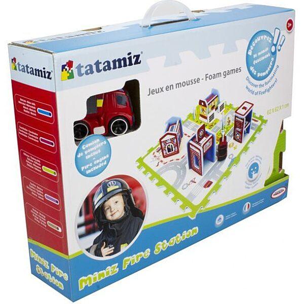 Mini tűzoltóállomás szivacs puzzle szőnyeg - 2. Kép