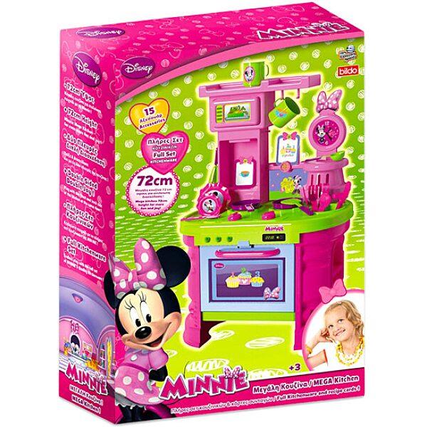 Minnie egér: játékkonyha 15 kiegészítővel - 1. Kép