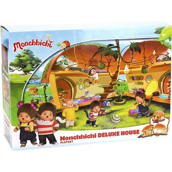 Monchhichi: ház deluxe játékszett - 4. Kép