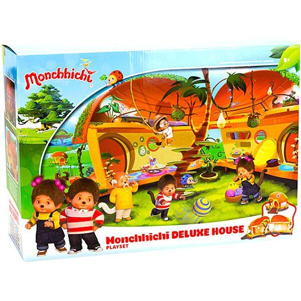 Monchhichi: ház deluxe játékszett - 1. Kép