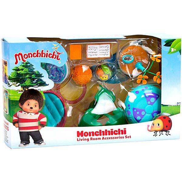 Monchhichi: nappali játékszett - több féle - 1. Kép