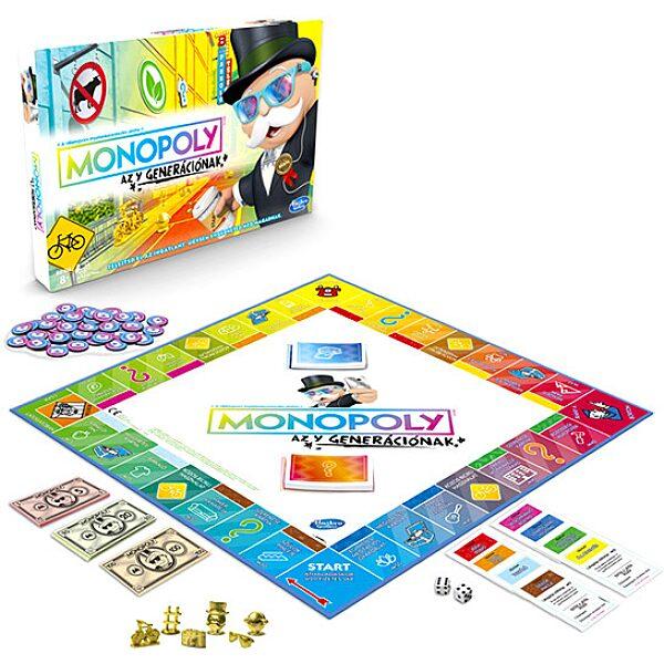 Monopoly: Az Y generáció társasjáték - 1. Kép