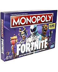 Monopoly: Fortnite társasjáték - angol nyelven - 1. Kép