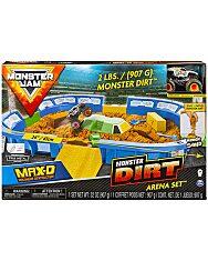 Monster Jam: Dirt Aréna játékszett MAX-D autóval - 1. Kép