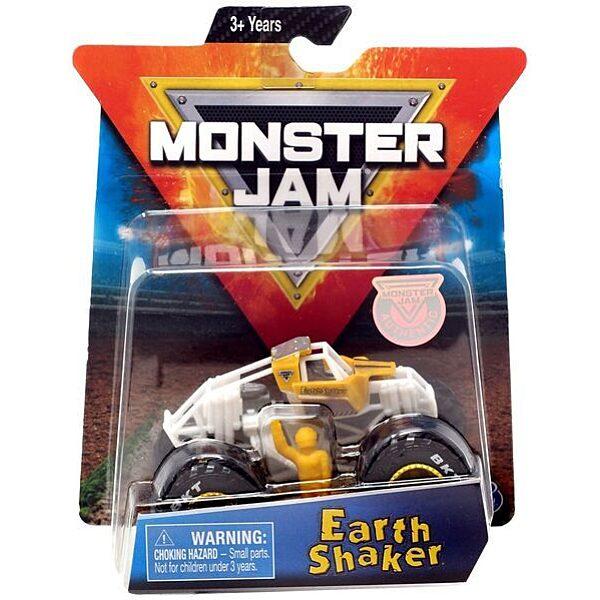 Monster Jam: Earth Shaker kisautó figurával - 1. Kép
