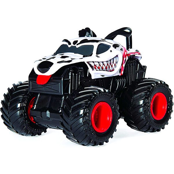 Monster Jam: Monster Mutt Dalmatian hátrahúzhatós kisautó - 2. Kép