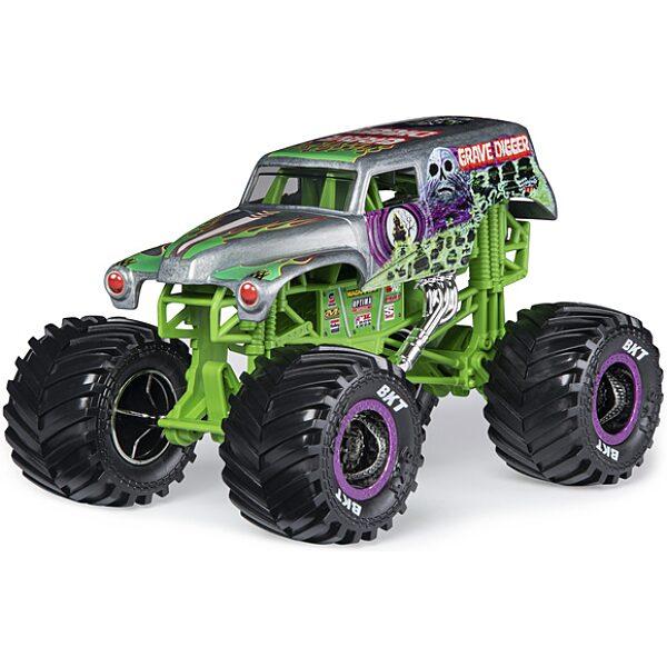 Monster Jam RC: Grave Digger távirányítós autó - 1:24 - 1. Kép