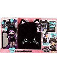 Na! Na! Na! Surprise: 3 az 1-ben hálószoba játékszett hátizsákban - Fekete Macska 1
