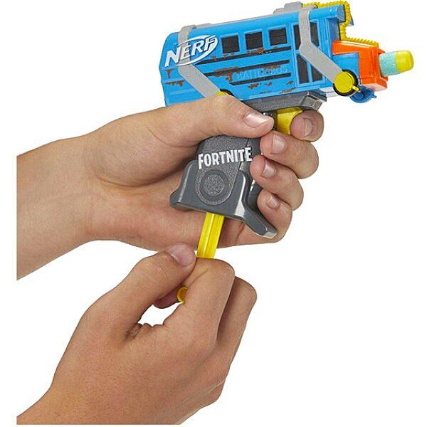 Nerf: Fortnite Micro Battle Bus szivacslövő pisztoly - 2. Kép
