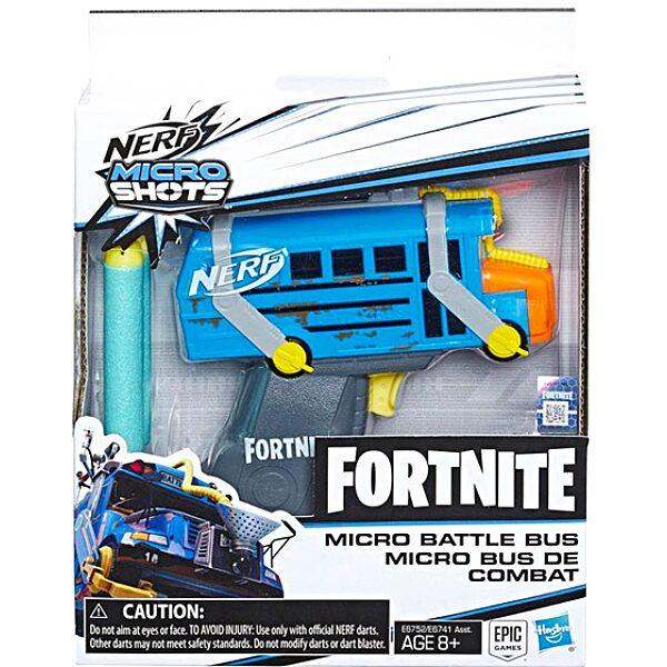 Nerf: Fortnite Micro Battle Bus szivacslövő pisztoly - 3. Kép