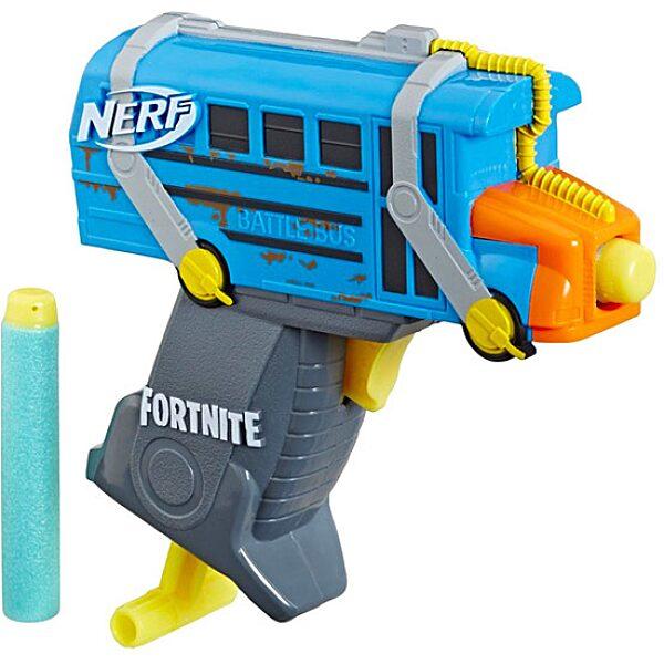 Nerf: Fortnite Micro Battle Bus szivacslövő pisztoly - 1. Kép