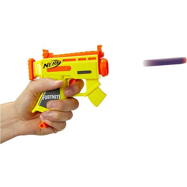 Nerf: Fortnite Microshots szivacslövő pisztoly - sárga - 2. Kép