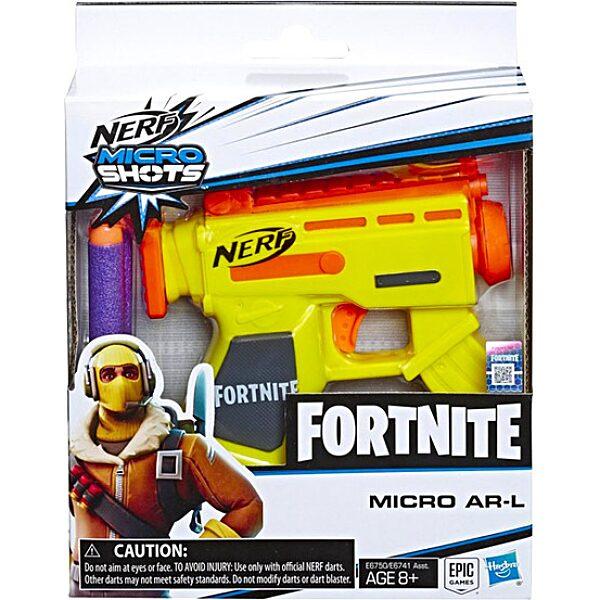 Nerf: Fortnite Microshots szivacslövő pisztoly - sárga - 3. Kép