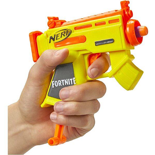 Nerf: Fortnite Microshots szivacslövő pisztoly - sárga - 1. Kép