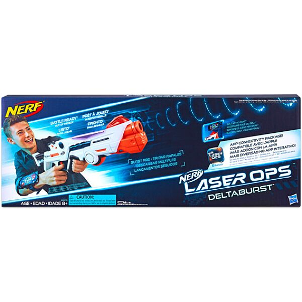NERF: Laser Ops Pro Deltaburst lézerfegyver - 1. Kép