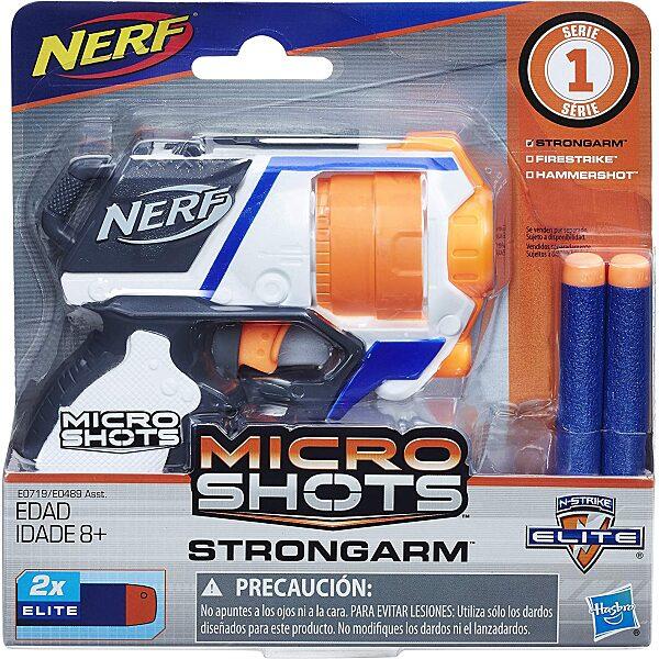 NERF: Microshots Strongarm szivacslövő pisztoly - 5. Kép