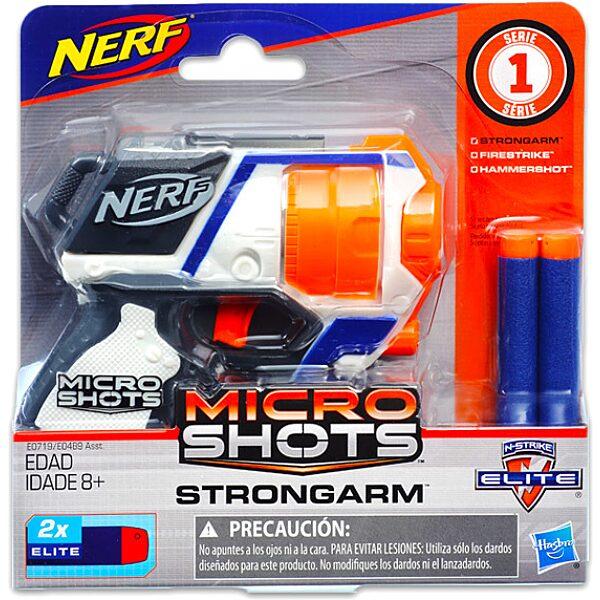 NERF: Microshots Strongarm szivacslövő pisztoly - 1. Kép