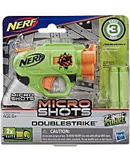 NERF: Microshots Zombi Strike Doublestrike szivacslövő fegyver - 1. Kép