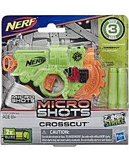 NERF: Microshots Zombie Strike Crosscut szivacslövő fegyver - 1. Kép