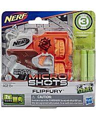 NERF: Microshots Zombie Strike Flipfury szivacslövő fegyver - 1. Kép